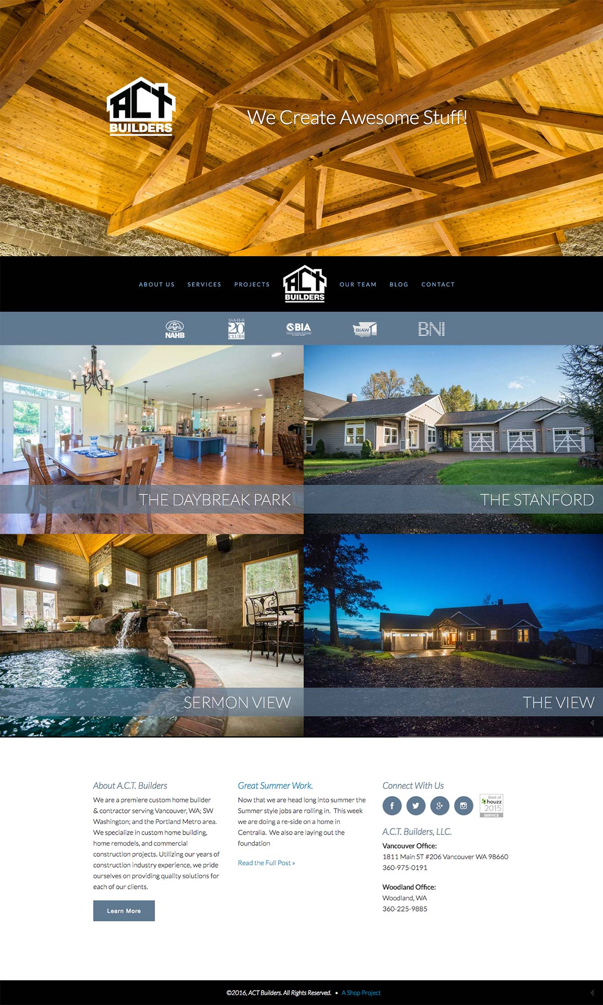ACT Home Page